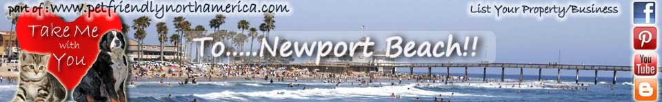 pet friendly newport beach